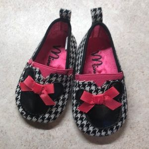 "Disney ""Minnie"" Shoes - 9-12 months"